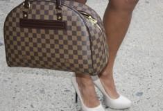 Street style: Carmen wears prints perfectly
