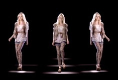Cool alert: Forever 21 puts on 3-D Hologram Fashion Show