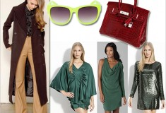 Haute for holiday: Haute Hippie green party dresses, the best winter coats, Hermès' Diamond Birkin bag and more on Weekly Shopping and Goodies