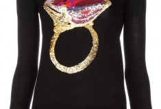 Haute buy: Markus Lupfer Ruby Ring merino wool sweater