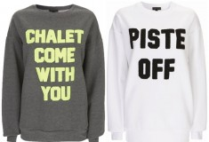 Outfit yourself in this après-ski attire by Ashish for Topshop!
