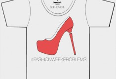 Kmart Fashion collabs with Sophomore NYC to create limited edition '#FashionWeekProblems' T-shirt