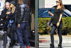 Beyonce and Alessandra Ambrosio in Isabel Marant sneakers
