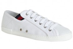 Gucci white canvas cap toe sneakers - Fashion in question