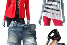 Sponsored: How to rock denim shorts and capri pants