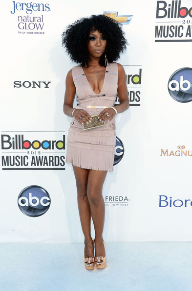 Brandy Norwood at the 2012 Billboard Music Awards