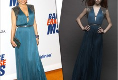 Get her haute look: Carmen Electra in Catherine Deane and M.C.L By Matthew Campbell Laurenza