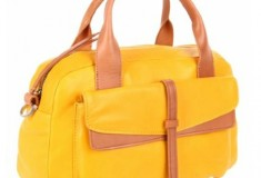 Christopher Kon Adin Satchel - in Yellow