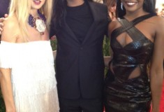 MET Gala 2012 Azealia Banks with Alexander Wang and Rachel Zoe