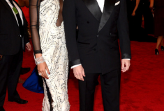 MET Gala 2012 Chanel Iman with Tom Ford