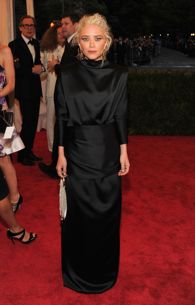 MET Gala Mary Kate Olsen The Row custom gown