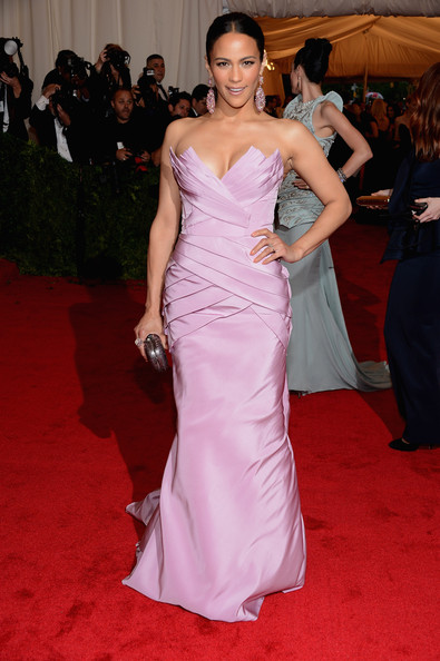 MET Gala Paula Patton in Vera Wang