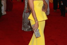 MET Gala Solange Knowles in yellow Rachel Roy