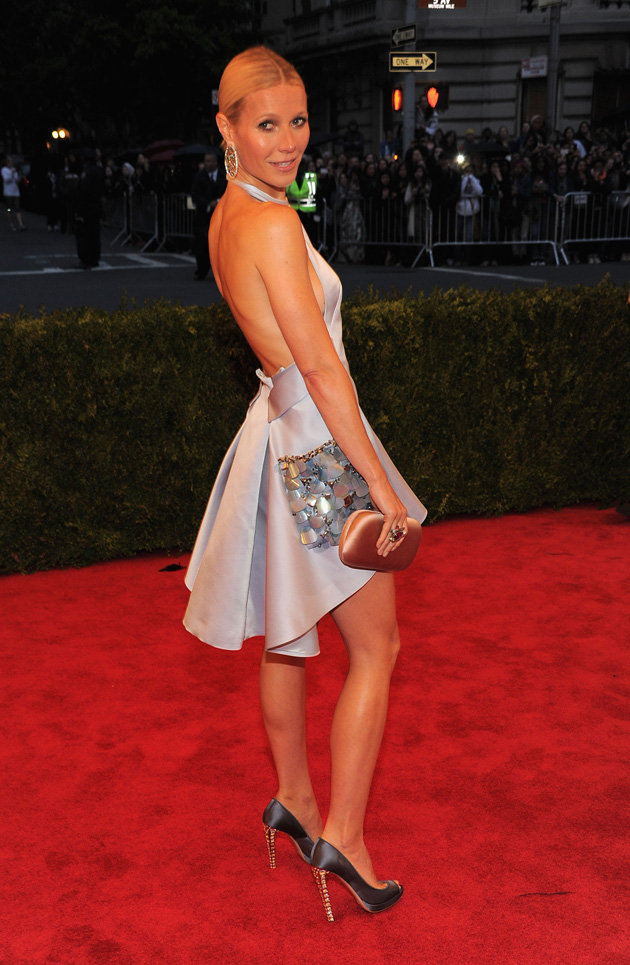 Met Gala 2012 Gwyneth Paltrow in Prada