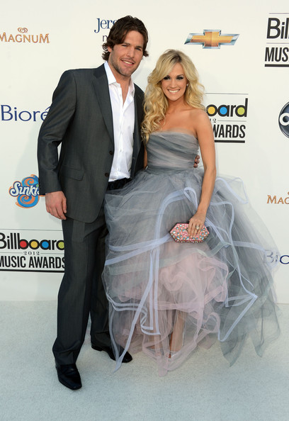 Mike Fisher and Carrie Underwood at the 2012 Billboard Music Awards