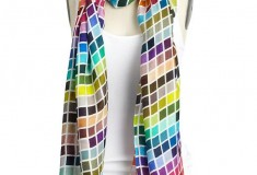 Haute buy: Tiles by Tolani Pantsone Womens Scarf