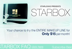 Get gorgeous with a monthly makeup Starbox from Starlooks!