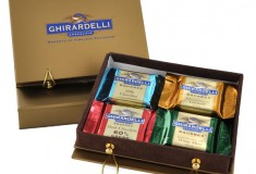 Craving a culinary luxury? Try Ghirardelli's gourmet chocolate SQUARES!