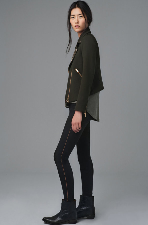 Zara August 2012 Lookbook - Look 3