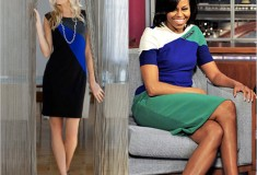 Sponsored: Get her look – Michelle Obama's Color-blocked Dress