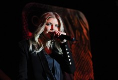 Singer Fergie hosts Case-Mate Spring 2013 at the Best Buy Theater on September 12, 2012 in New York City.