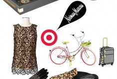 Target + Neiman Marcus bikes leopard slippers lace tops studded gloves sunglasses luggage.jpg