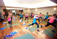 Glam & Under Armour blogger bootcamp at Exhale Spa: the class