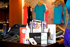 Glam & Under Armour blogger bootcamp at Exhale Spa: goody bag items