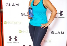 Glam & Under Armour blogger bootcamp at Exhale Spa: What's Haute on the Under Armour red carpet