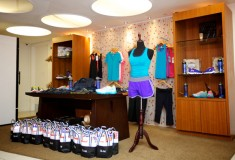 Glam & Under Armour blogger bootcamp at Exhale Spa: Under Armour & Glam goody bag