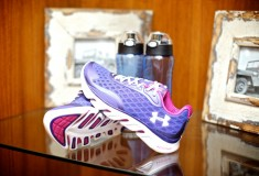 Glam & Under Armour blogger bootcamp at Exhale Spa: Under Armour sneakers