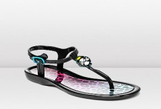 Jimmy Choo and Rob Pruitt MAUI Jelly Thong Sandal