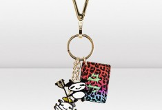 Jimmy Choo and Rob Pruitt NEO Gold Keyring