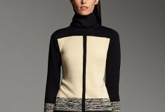 Narciso Rodriguez for DesigNation Colorblock Turtleneck Sweater