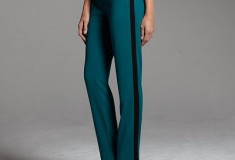 Narciso Rodriguez for DesigNation Crepe Tuxedo Pants