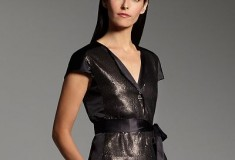 Narciso Rodriguez for DesigNation Sequin Charmeuse Jacket