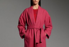Narciso Rodriguez for DesigNation Wool-Blend Coat