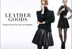 Shopbop - 8 Sophisticated Ways to Wear Leather
