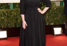Adele at the 70th Annual Golden Globe Awards