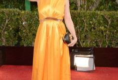 Alyssa Milano at the 70th Annual Golden Globe Awards