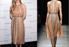Haute off the red carpet: Amanda Seyfried in Bottega Veneta Spring 2013