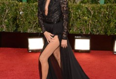 Eva Longoria at the 70th Annual Golden Globe Awards