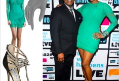 "Get her haute look: Nene Leakes on ""Watch What Happens Live"" in Jean Paul Gaultier & Jimmy Choo"