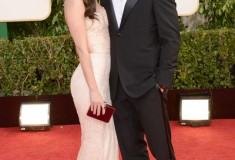 Megan Fox and Brian Austin Green at the 70th Annual Golden Globe Awards