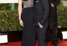 Nicole Kidman and Keith Urban at the 70th Annual Golden Globe Awards