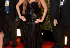 Sofia Vergara at the 70th Annual Golden Globe Awards