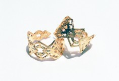 CROWN MIDI RINGS