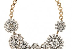Haute buy: J.Crew Flower Lattice Necklace