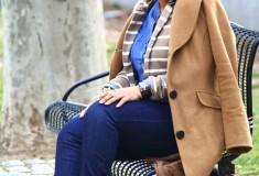 My style: Casual denim & stripes