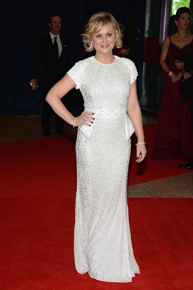Amy Poehler at the White House Correspondents' Association Dinner
